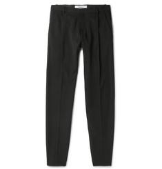 - Tapered Wool-Twill Trousers