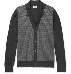 Brioni Silk, Wool and Cashmere-Blend Cardigan