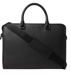 Michael Kors - Harrison Cross-Grain Leather Briefcase