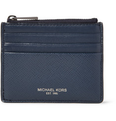 Michael Kors - Harrison Cross-Grain Leather Cardholder
