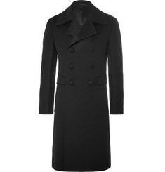 Prada Slim-Fit Double-Breasted Wool Coat