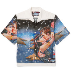 Prada - Impossible True Love Camp-Collar Printed Cotton Shirt