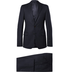 Prada Blue Slim-Fit Super 120s Wool Suit