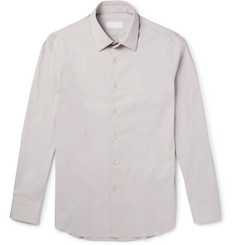 Prada - Slim-Fit Stretch Cotton-Blend Poplin Shirt