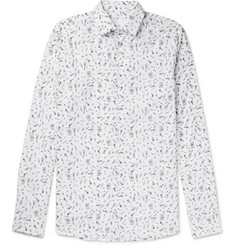 Prada Slim-Fit Printed Cotton-Poplin Shirt