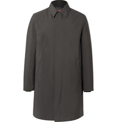 Prada Canvas Coat with Detachable Padded Shell Jacket
