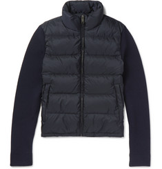 Prada Wool and Quilted Shell Down Jacket