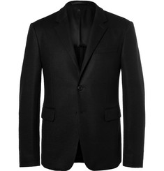 Prada Black Slim-Fit Virgin Wool Blazer