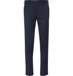Prada Slim-Fit Zip-Detailed Tech-Jersey Trousers