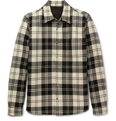 Prada - Checked Wool Overshirt