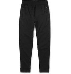 Prada Slim-Fit Contrast-Trimmed Tech-Jersey Sweatpants