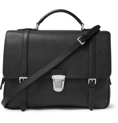 Prada Cross-Grain Leather Briefcase