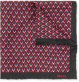 Prada - Printed Silk Pocket Square