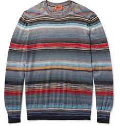Missoni Space-Dyed Cashmere and Silk-Blend Sweater