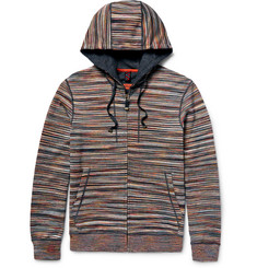 Missoni - Space-Dyed Cotton Zip-Up Hoodie