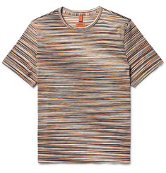 Missoni - Space-Dyed Knitted Cotton T-Shirt