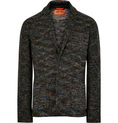 Missoni Unstructured Knitted Wool Blazer