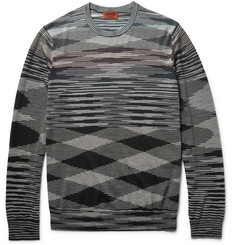 Missoni Space-Dyed Wool-Blend Sweater