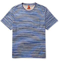 Missoni Patterned Knitted Cotton T-Shirt
