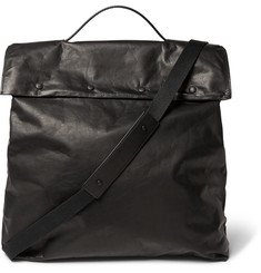 Maison Margiela Washed-Leather Tote Bag