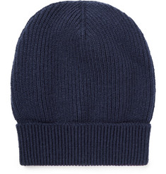 Maison Margiela Ribbed Wool-Blend Beanie