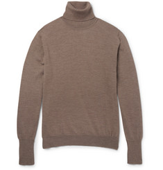 Thom Sweeney Wool Rollneck Sweater