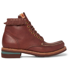 Visvim Fringed Leather Boots