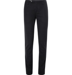 Massimo Alba Slim-Fit Pleated Wool Trousers