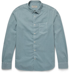 Officine Generale Slim-Fit Cotton Shirt