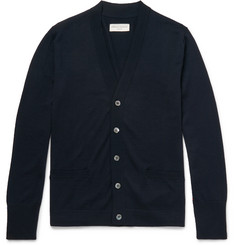 Officine Generale Nina Slim-Fit Merino Wool Cardigan