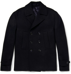 Officine Generale Slim-Fit Wool Peacoat