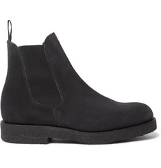 Officine Generale Suede Chelsea Boots