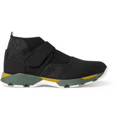 Marni Neoprene High-Top Sneakers