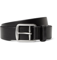 Polo Ralph Lauren - 3cm Black Leather Belt