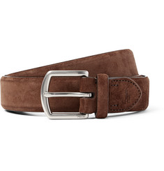 Polo Ralph Lauren 3cm Brown Suede Belt
