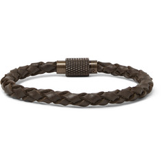 Polo Ralph Lauren Woven Leather Bracelet
