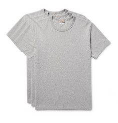 visvim Three-Pack Cotton-Jersey T-Shirts