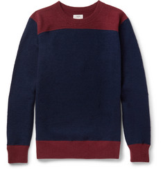 visvim Colour-Block Wool Sweater