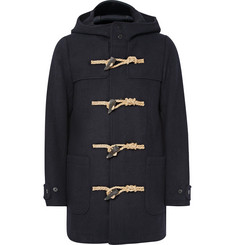 visvim Slim-Fit Wool Hooded Duffle Coat
