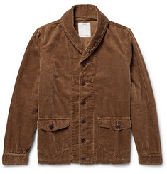 Visvim Kobuk Shawl-Collar Cotton-Blend Corduroy Jacket
