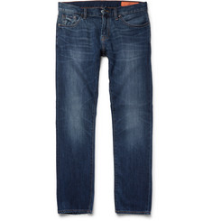 Jean Shop - Mick Slim-Fit Washed Selvedge Denim Jeans