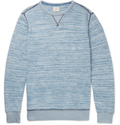 Faherty Mélange Cotton Sweatshirt