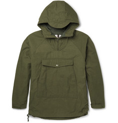 Battenwear Scout Water-Resistant Cotton-Blend Hooded Jacket
