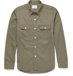 Battenwear Slim-Fit Cotton-Twill Shirt