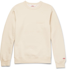 Battenwear Reach-Up Fleece-Back Cotton-Blend Jersey Sweatshirt