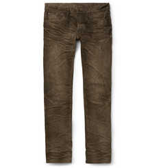 Fabric-Brand & Co Cairo Slim-Fit Washed Selvedge Denim Jeans