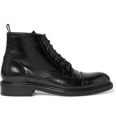 Loewe Polished-Leather Boots