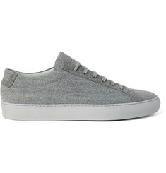 Common Projects Achilles Wool-Twill Sneakers
