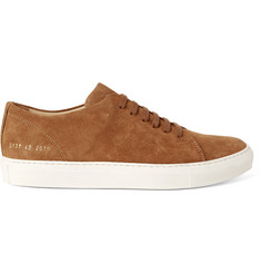 Common Projects Court Suede Sneakers