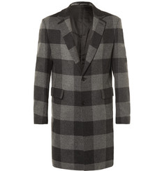 Casely-Hayford - Wentworth Checked Wool Overcoat